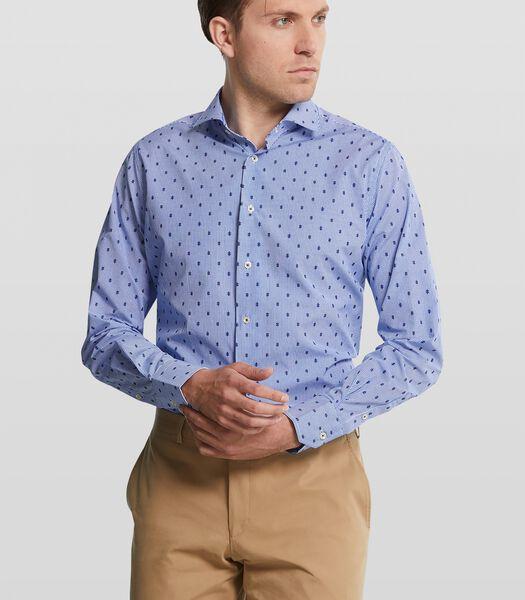 Overhemd met dubbel dessin