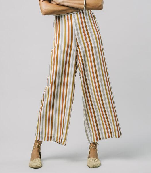 Broek Earthy Stripes