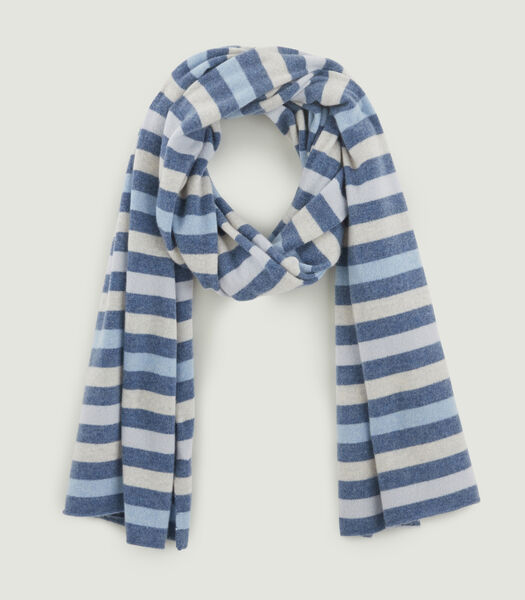 Grote gestreepte sjaal
