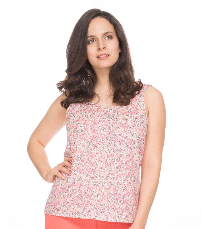 Katoenen popeline hemdje met image number 3