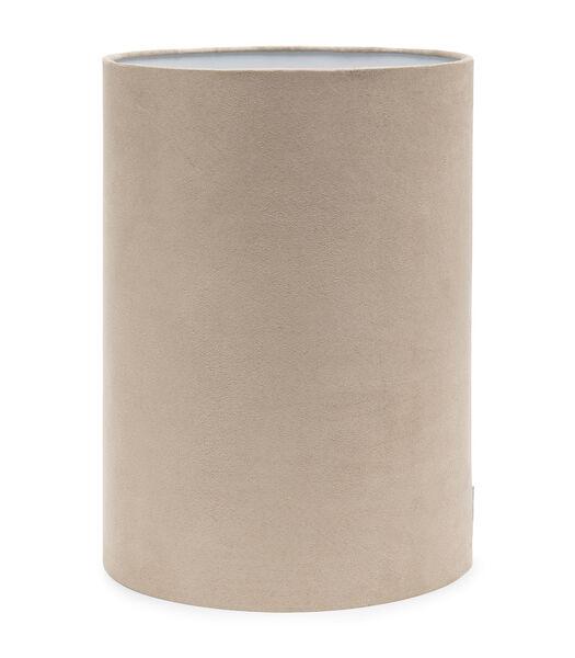 Abat-jour cylindrique haut sable 28x40