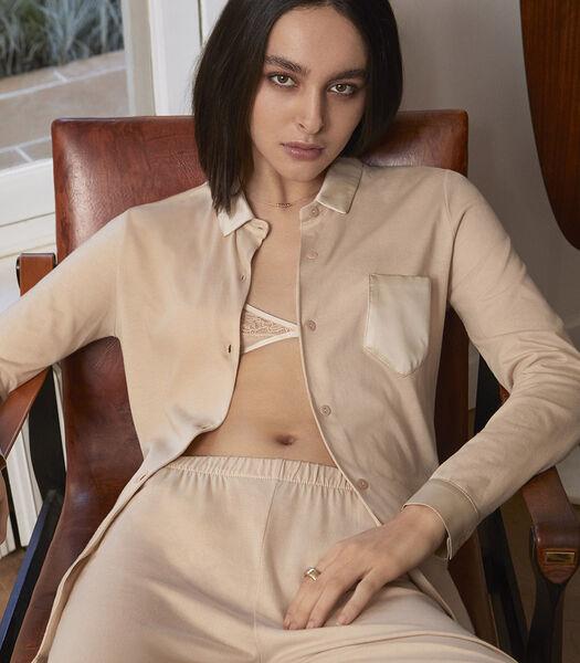 TUILERIE - Pyjama  50% jersey de coton - 50% katoenmodal