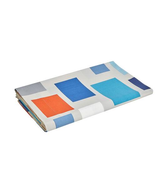 BLOCKS Celadon - Drap Percale de coton