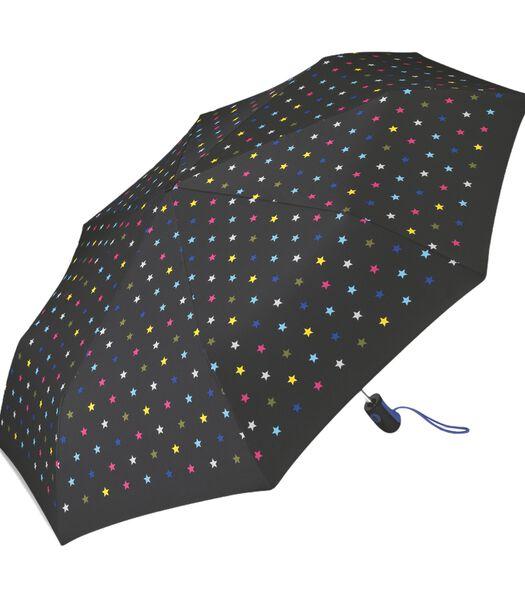 "Paraplu Easymatic Dame bedrukt ""Joyful stars"""