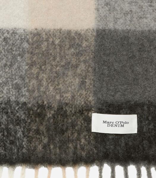 Sjaal van een mix met alpacawol