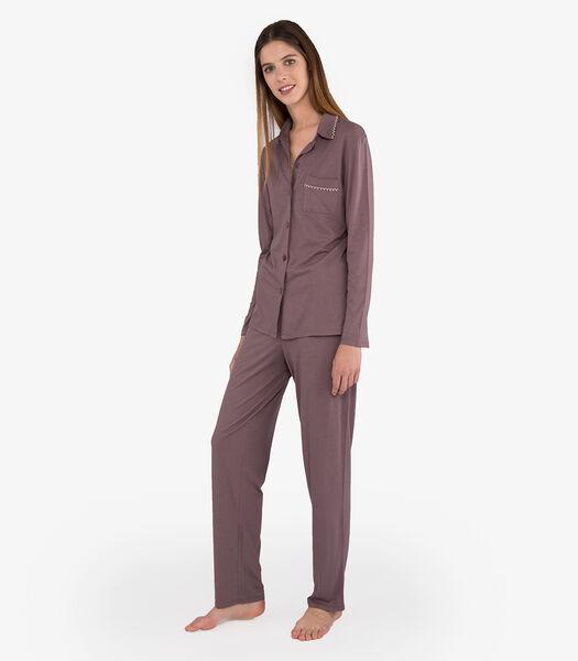 Vintage - Pyjama katoenmodal