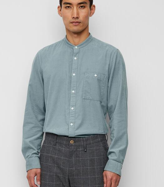 Overhemd met lange mouwen van zacht corduroy
