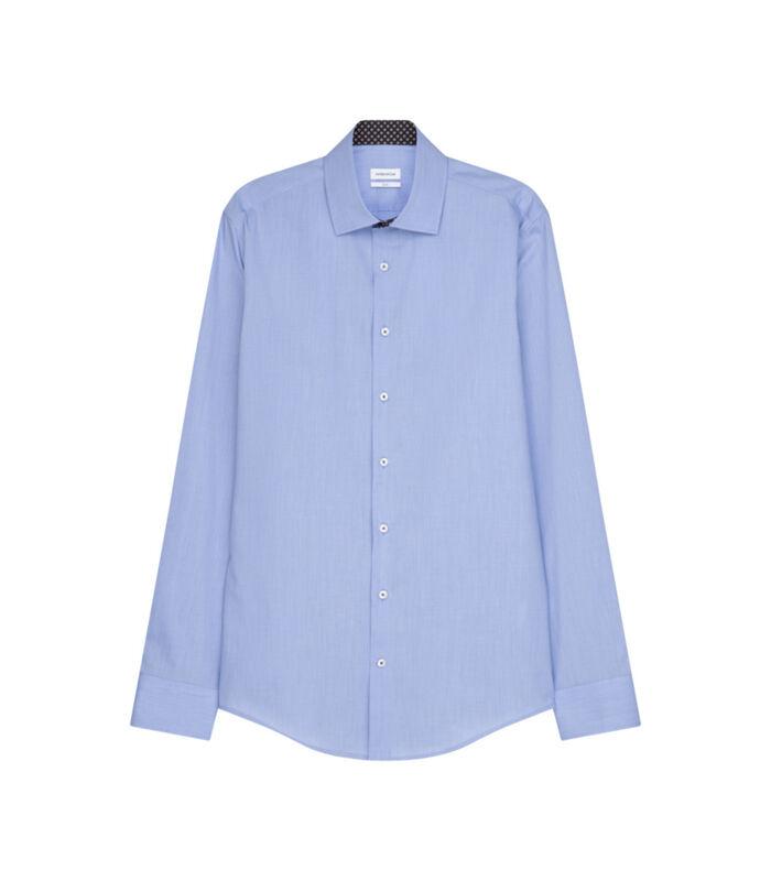 Overhemd Slim Fit Extra lange mouwen Uni image number 0