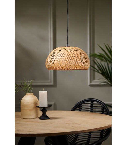 Lampe pendante Timeo - Bambou Naturel - Ø36x21 cm