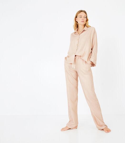 Variation - Homewear hemd viscose