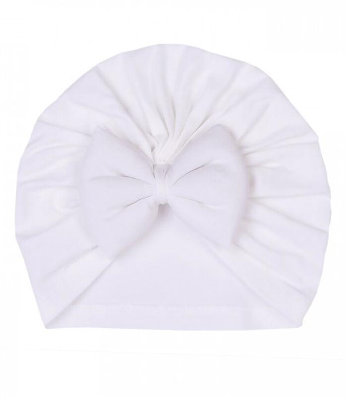 Set 3 pièces - Turban bébé en coton biologique, JADE image number 4