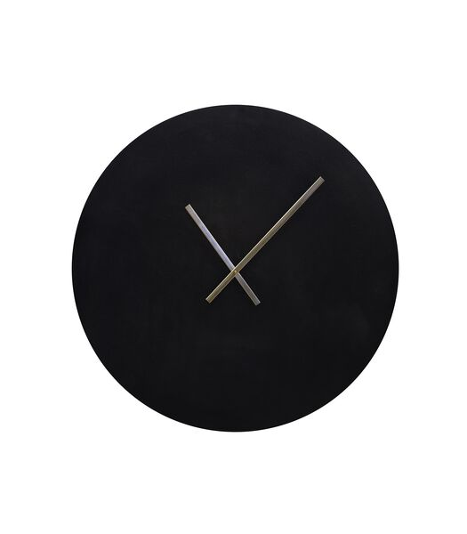 Horloge Licola - Noir antique - Ø74 cm