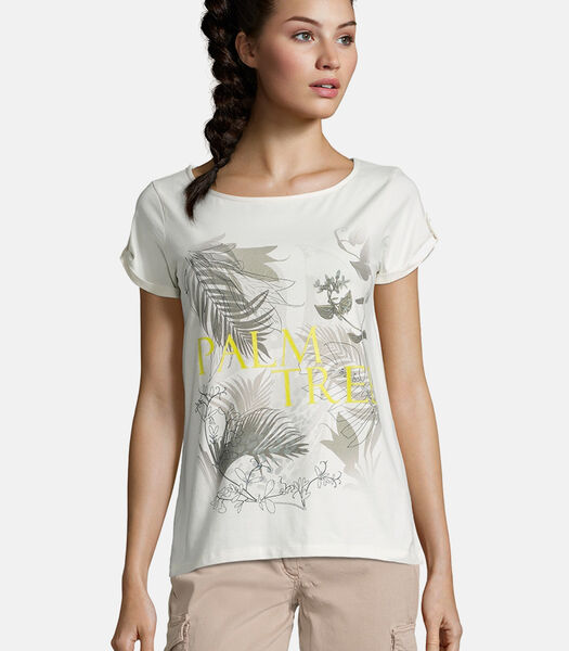 Basic shirt met motief