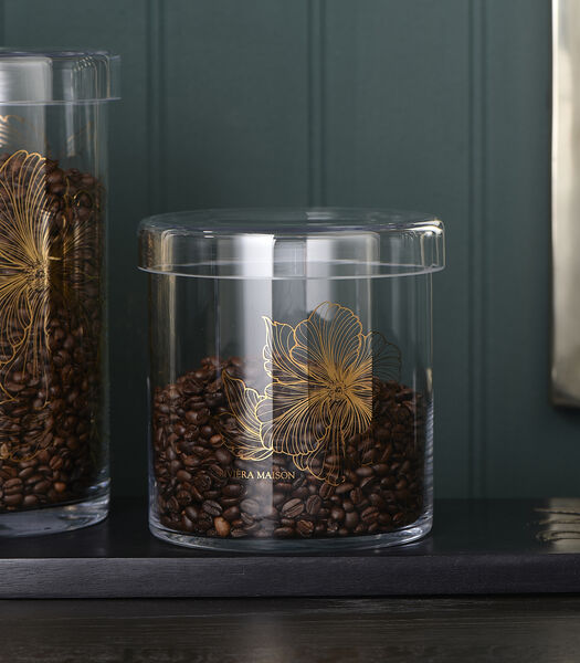 Les Fleurs Storage Jar M