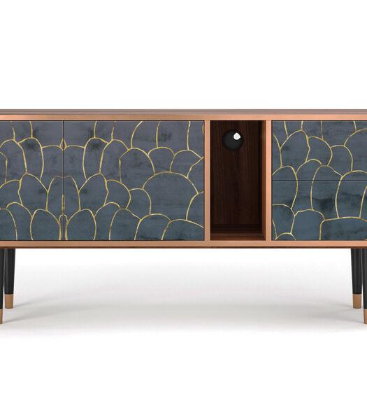T1 Blue Lagoon - Tv-meubel - 2 deuren en 2 laden