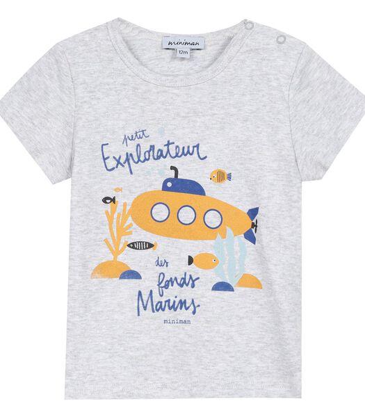 Geprinte t-shirt met korte mouwen