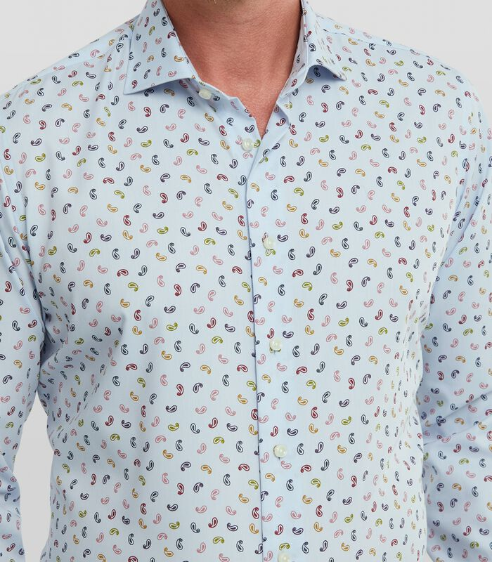 Twill overhemd met paisley print image number 2