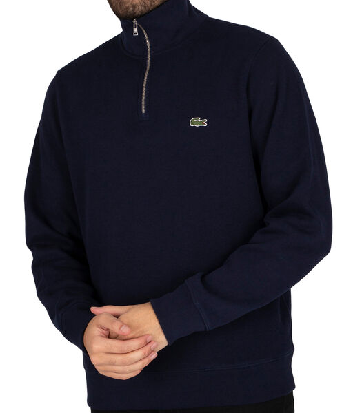 Sweatshirt met ritssluiting
