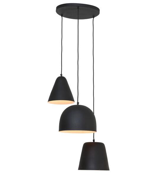 Lampe pendante Sphère - Noir - 3L