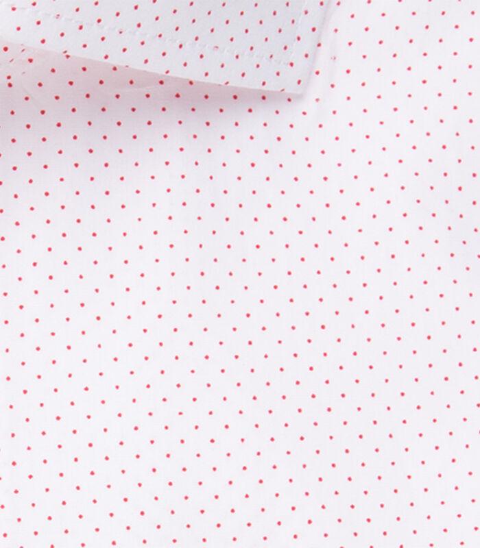 Overhemd Regular Fit Korte mouwen Stippen image number 4