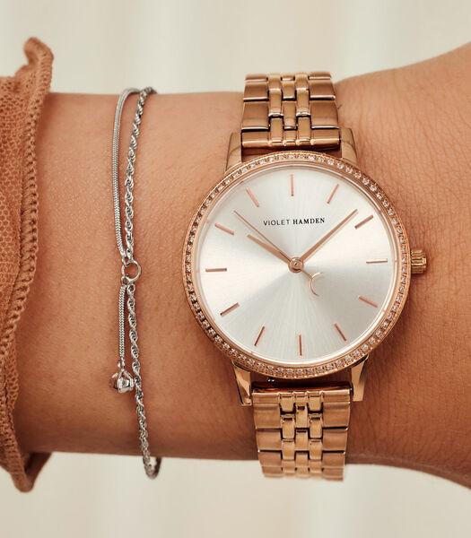 Sunrise Horloge roségoudkleurig VH07002