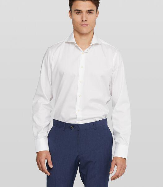 Strijkvrij twill overhemd