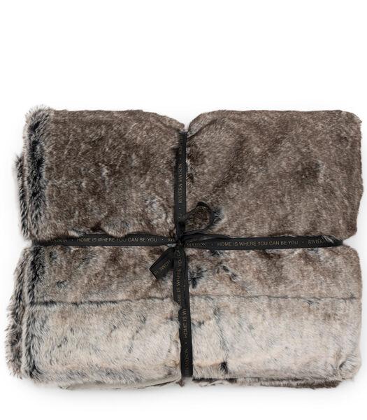 Chill Faux Fur Throw 170x130