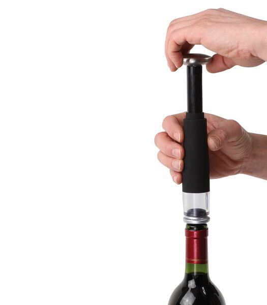 Set elektrische flesopener en pomp