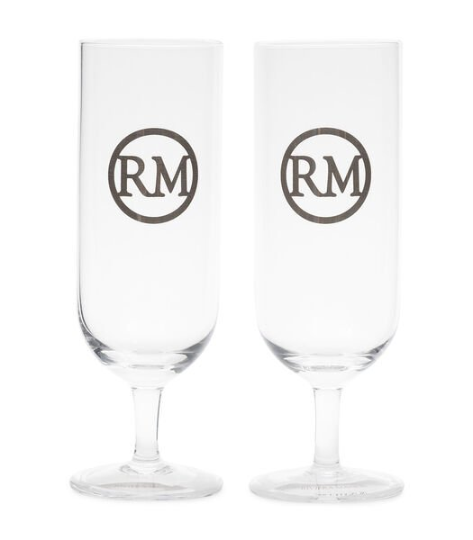 Love RM Beer Glass 2 pieces