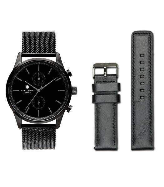 Metropolitan Horloge zwart SL90004