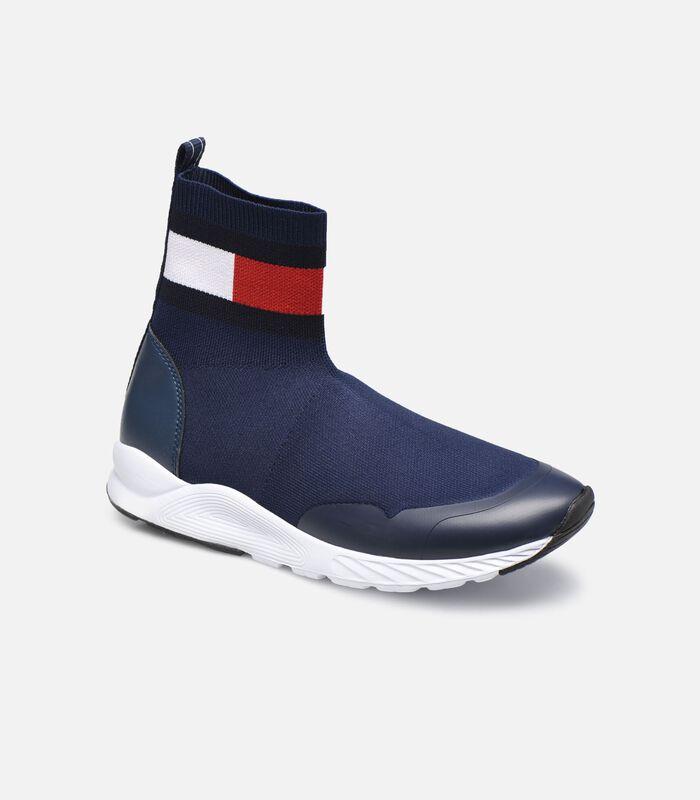 Sneaker met logo image number 0