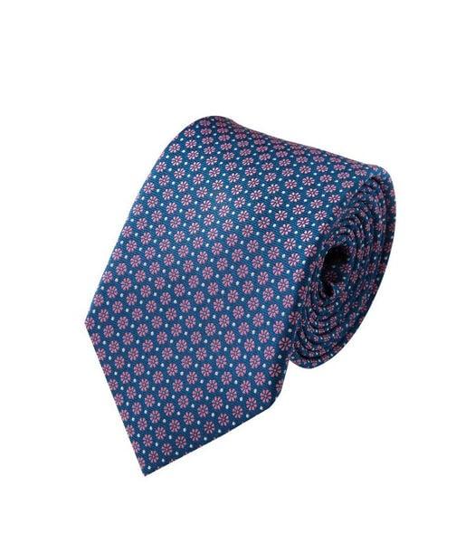 Cravate silk Floral