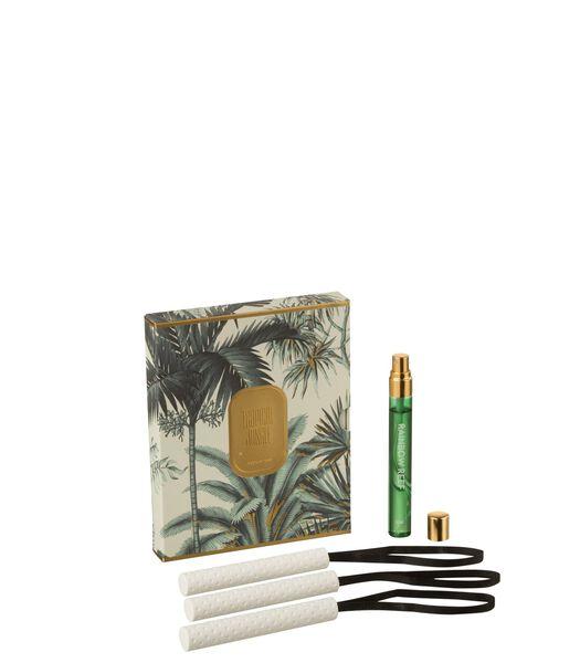 Boite 3 Suspension Parfumee Tropical Jungle Vert