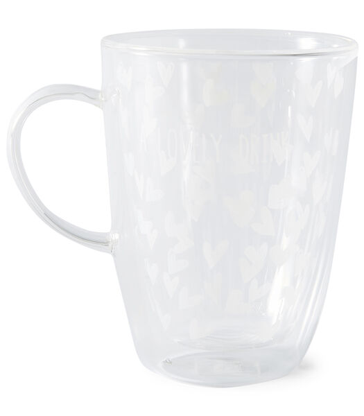 Lovely Drinks Double Wall Glass M