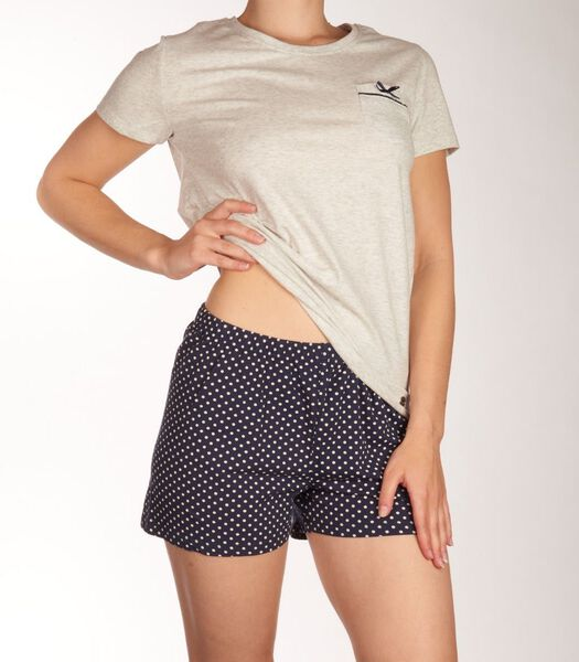 Pyjama korte broek d-38