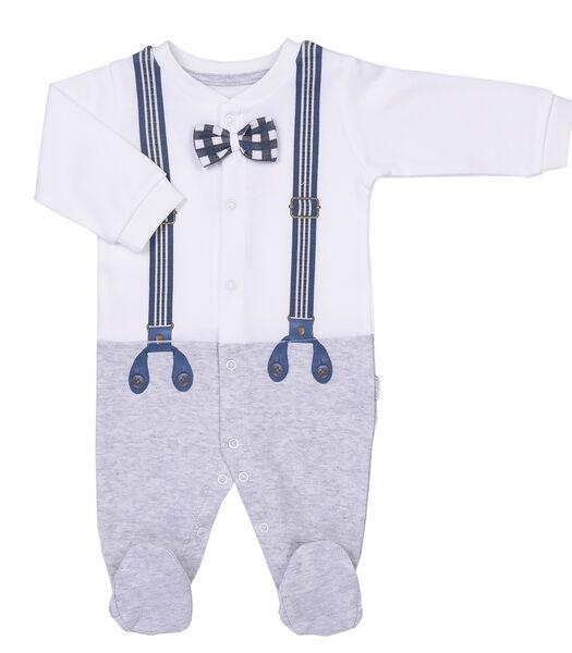 Biologische katoenen babypyjama, Monsieur Chic