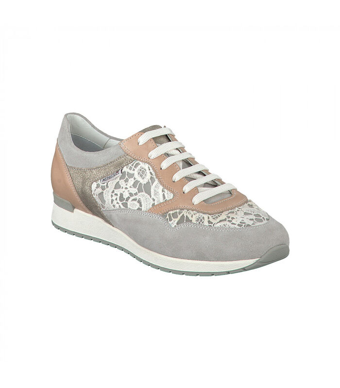 NAPOLIA-Sneakers leer image number 1