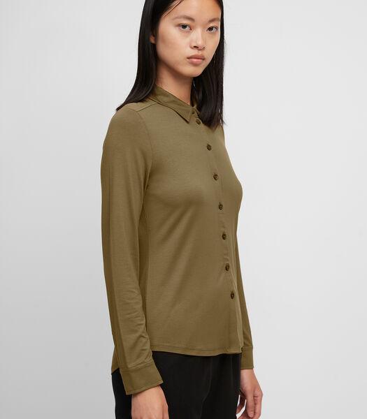 Jersey blouse van LENZING™ ECOVERO™