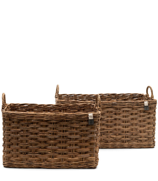 Whitehaven Beach Basket S/2