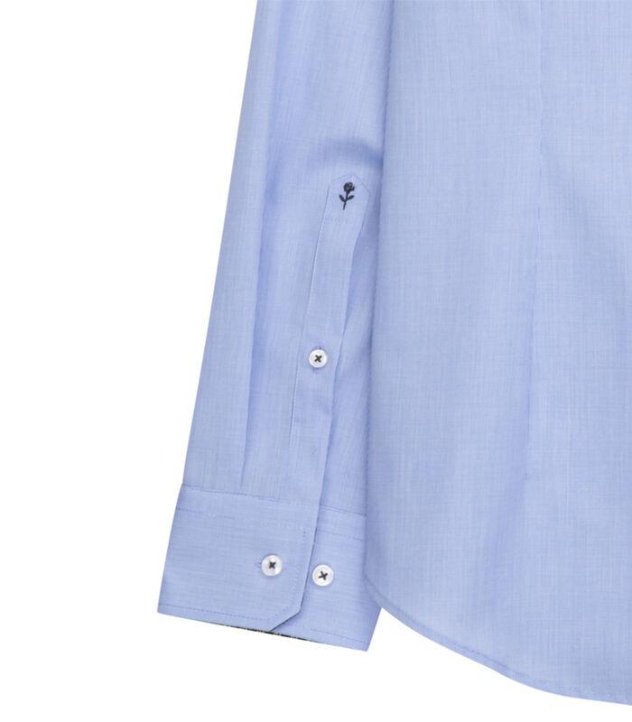 Overhemd Slim Fit Extra lange mouwen Uni image number 2
