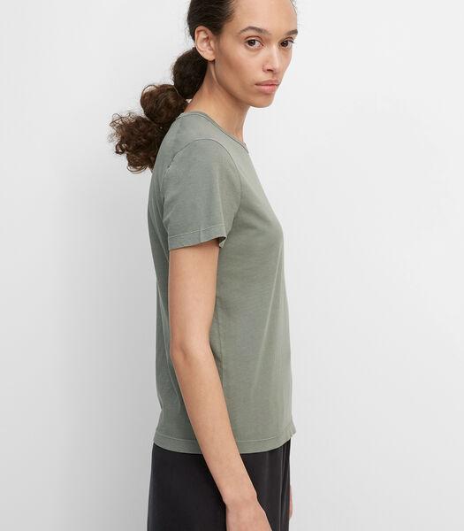 Basic T-shirt van single jersey van organic cotton