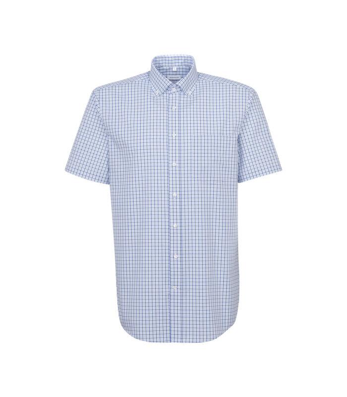 Overhemd Regular Fit Korte mouwen Geruit image number 0