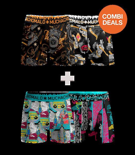 Men COMBI 2x2 Print L