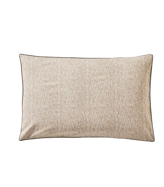 KHEOPS Sable - Kussensloop 100% coton