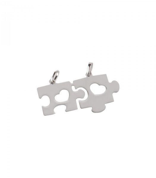 B-CLASSIC Rhodium zilveren hanger