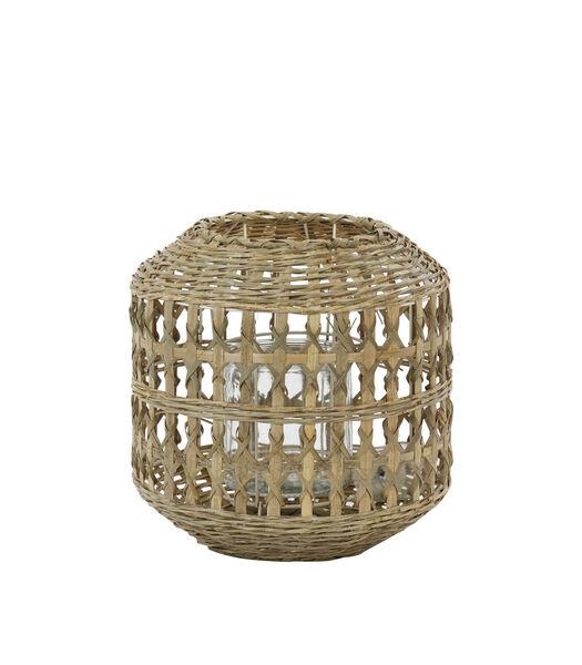 Lanterne Bamago - Bambou - Ø28x28 cm