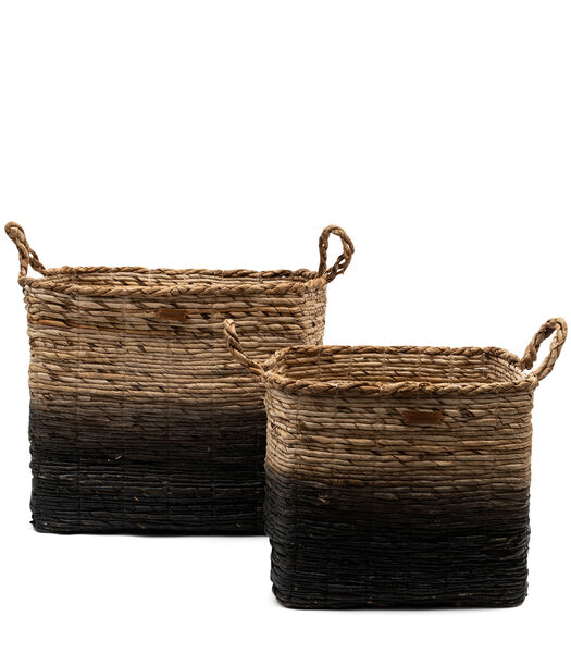 Rugged Luxe Basket Set Of 2 pieces