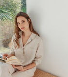 Pyjamajasje zuiver Frans linnen, VICTORIA image number 1