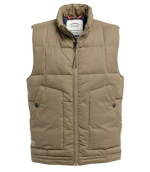 Gewatteerde jas zonder mouwen Sorona® JONBAYO