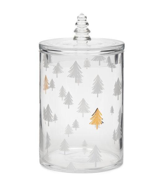 Elegant Christmas Tree Jar